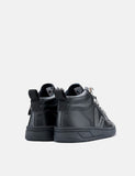 Womens Veja Roraima Leather Trainers - Grafite Black-Sole