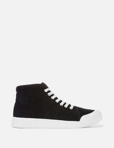Good News Rhubarb Hi Trainers (Cord) - Black