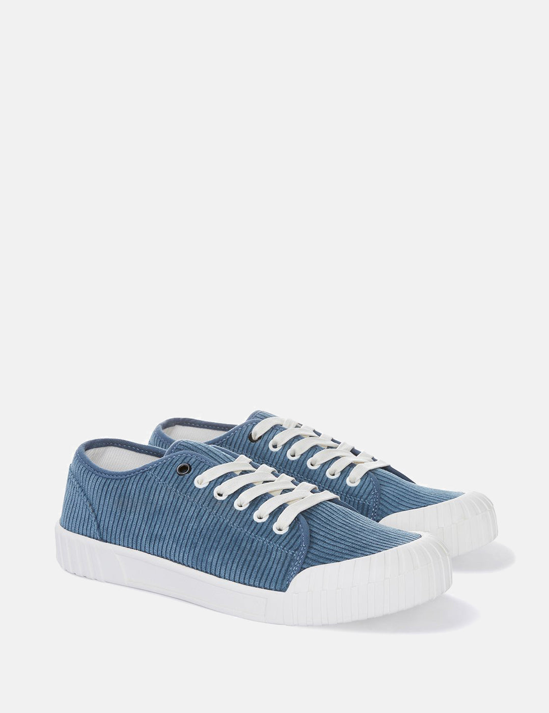 Good News Rhubarb Low Trainers (Cord) - Blue