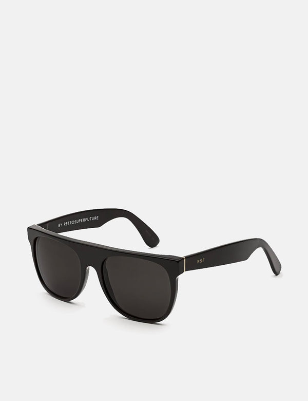 RetroSuperFuture Flat Top Sunglasses - Black