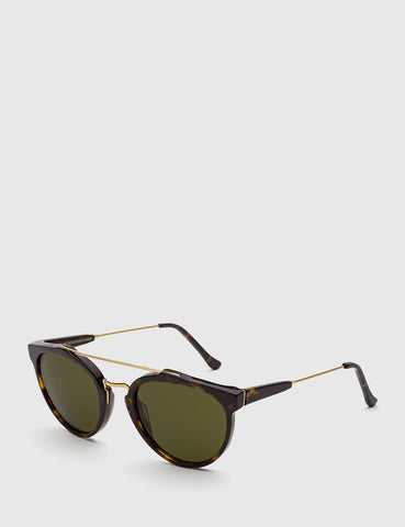 Super Giaguaro Sunglasses - Havana Green
