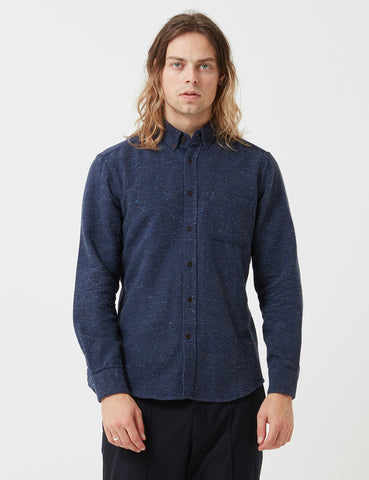 Portuguese Flannel Rude Shirt - Blue