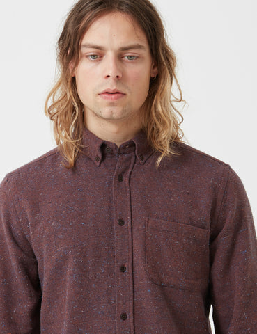 Portuguese Flannel Rude Shirt - Brick