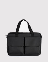 Rains Pace Laptop Bag - Black