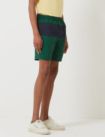 Fred Perry Panelled Swim Short - Ivy