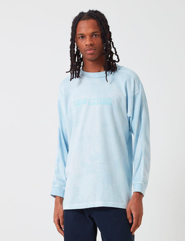 Sampaix Too Many Lies Long Sleeve T-Shirt - Bedroom Blue