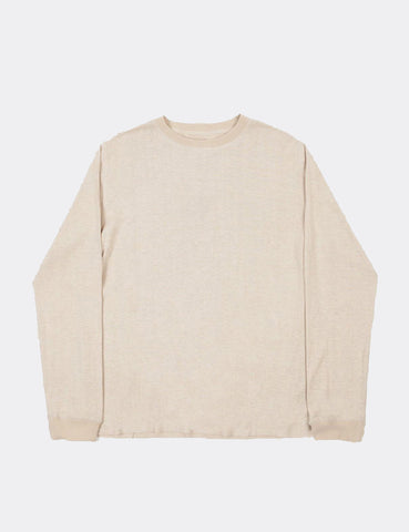 Satta Hemp Long Sleeve T-Shirt - Calico