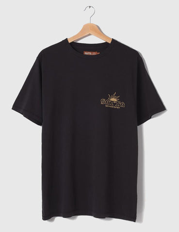 Satta Solar Soundsystem T-Shirt - Washed Black