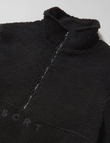 SCRT Sherpa Half-Zip Fleece - Black