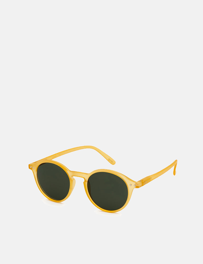 Izipizi Sun Shape #D Sunglasses - Yellow Honey