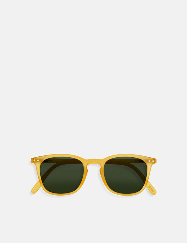Izipizi Sun Shape #E Sunglasses - Yellow Honey