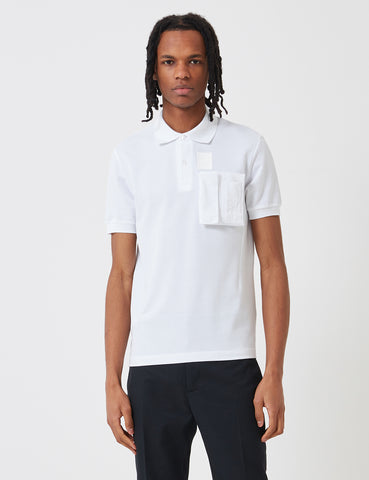 Fred Perry x Raf Simons Space Pocket Pique Shirt - White