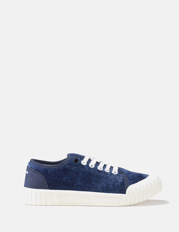 Good News Softball Low Trainers (Velvet) - Navy