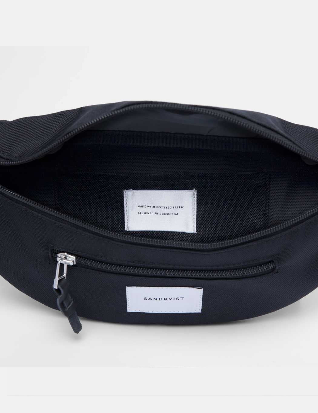 Sandqvist Aste Hip Bag - Black