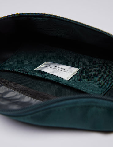 Sandqvist Aste Hip Bag - Multi Deep Green/Dark Grey
