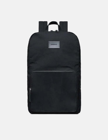 Sandqvist Kim Grand Backpack (Canvas) - Black