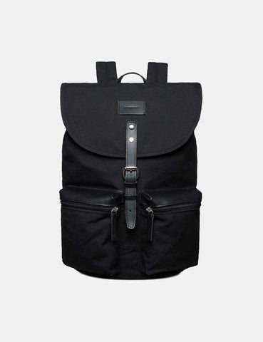 Sandqvist Roald Grand Backpack (Canvas) - Black