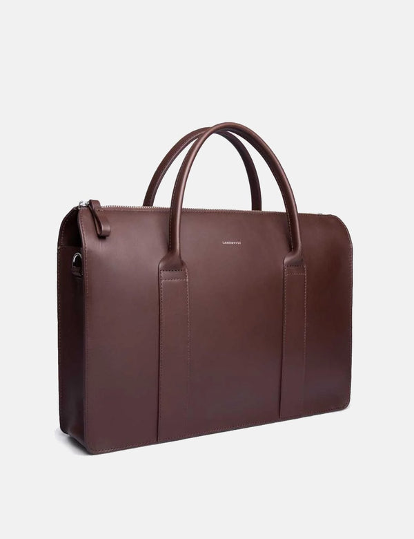 Sandqvist Alice Briefcase - Dark Brown