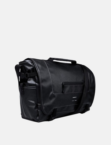 Sandqvist Loke Messenger Bag - Black