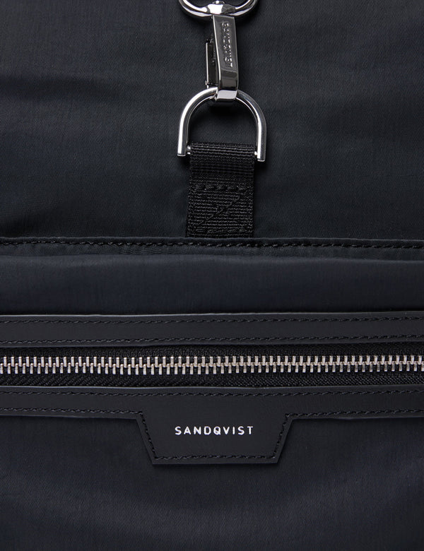 Sandqvist SIV Backpack (Roll Top) - Black