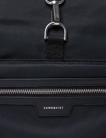 Sandqvist SIV Backpack (Roll Top)- Black