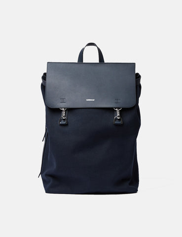 Sandqvist Hege Hook Backpack - Navy Blue