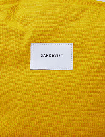 Sandqvist Kim Ground Backpack (Canvas) - Yellow