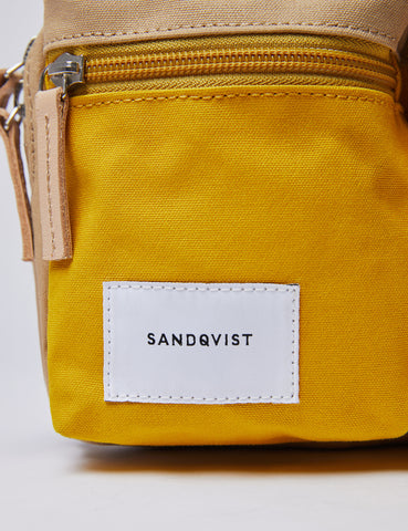 Sandqvist Paul Hip Bag - Yellow/Beige