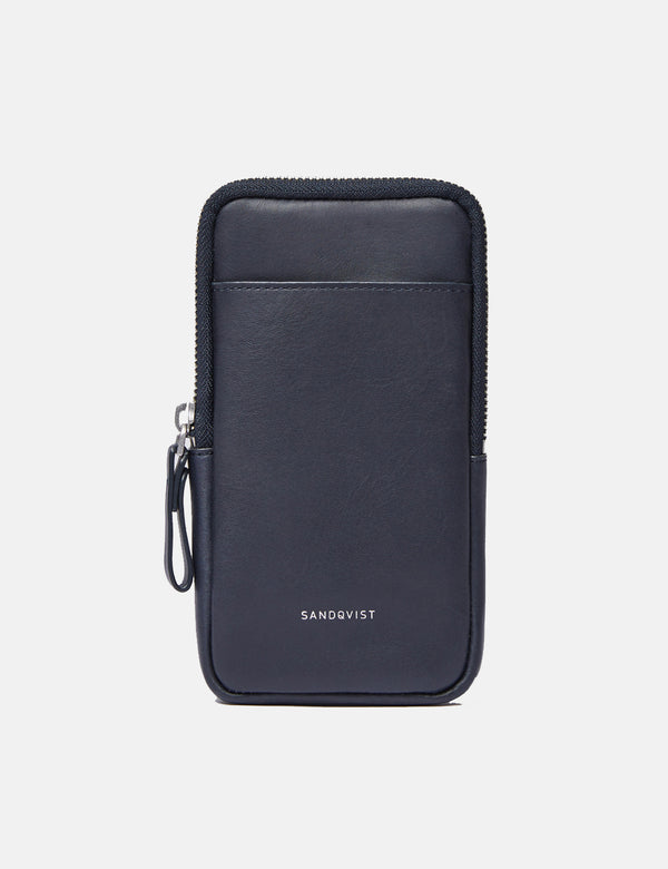 Sandqvist Inge Shoulder Bag - Navy Blue
