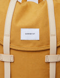 Sandqvist Stig Backpack (Canvas) - Honey Yellow