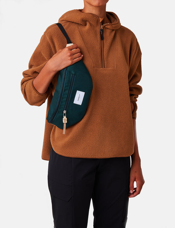 Sandqvist Aste Hip Bag - Dark Green