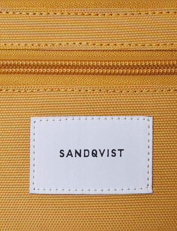 Sandqvist Aste Hip Bag - Honey Yellow/Dark Green