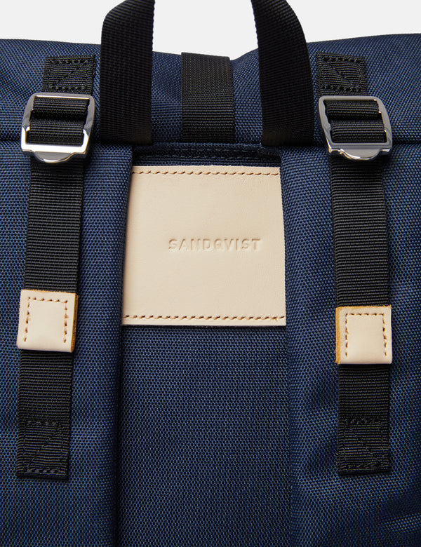 Sandqvist Bernt Backpack - Navy Blue