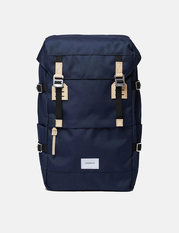 Sandqvist Harald Backpack - Navy Blue