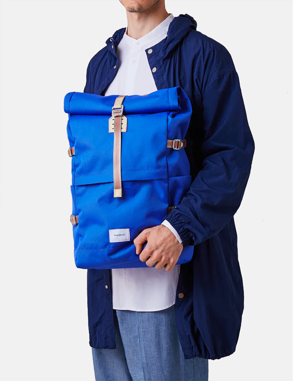 Sandqvist Bernt Backpack - Bright Blue