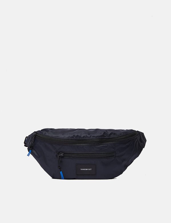 Sandqvist Aste Lightweight Hip Bag - Black