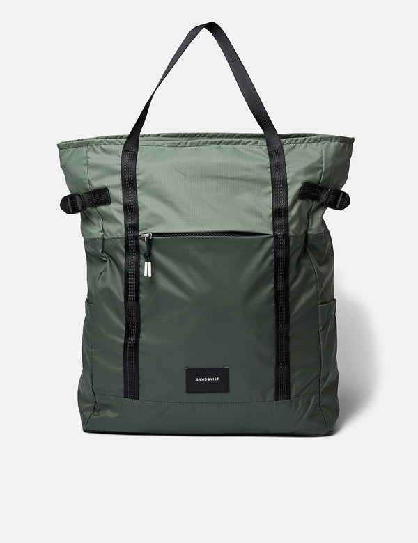 Sac à Dos Sandqvist Roger Lightweight - Dusty Green/Night Green