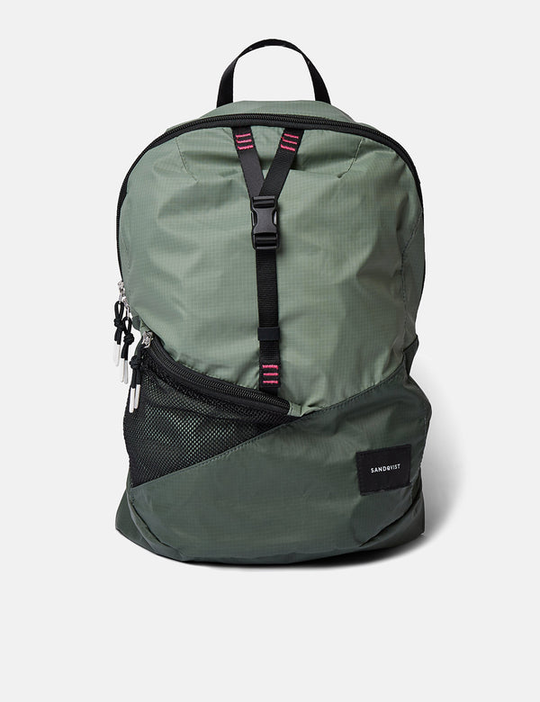 Sac à Dos Sandqvist Erland Lightweight - Dusty Green/Night Green