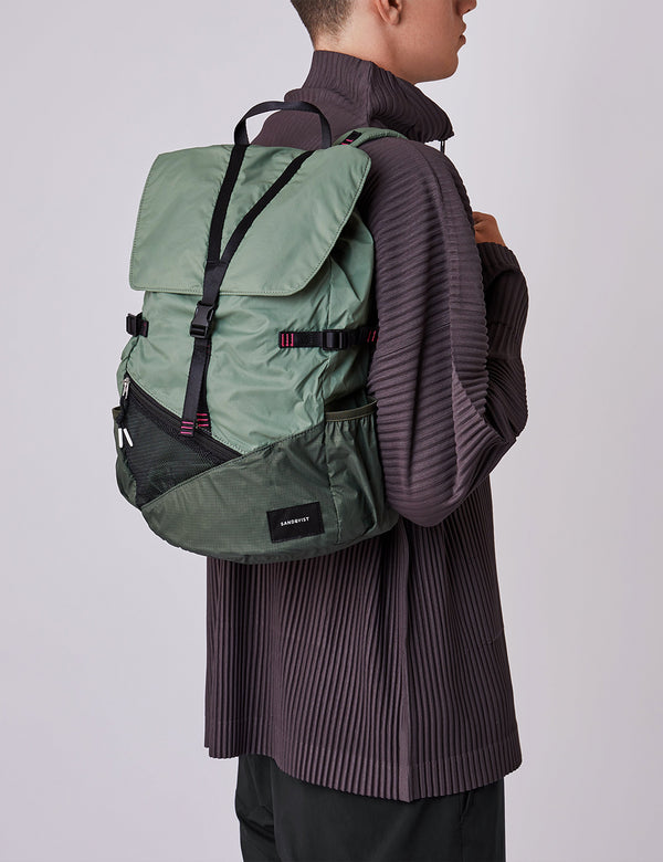 Sac à Dos Sandqvist Kasper Lightweight - Dusty Green/Night Green