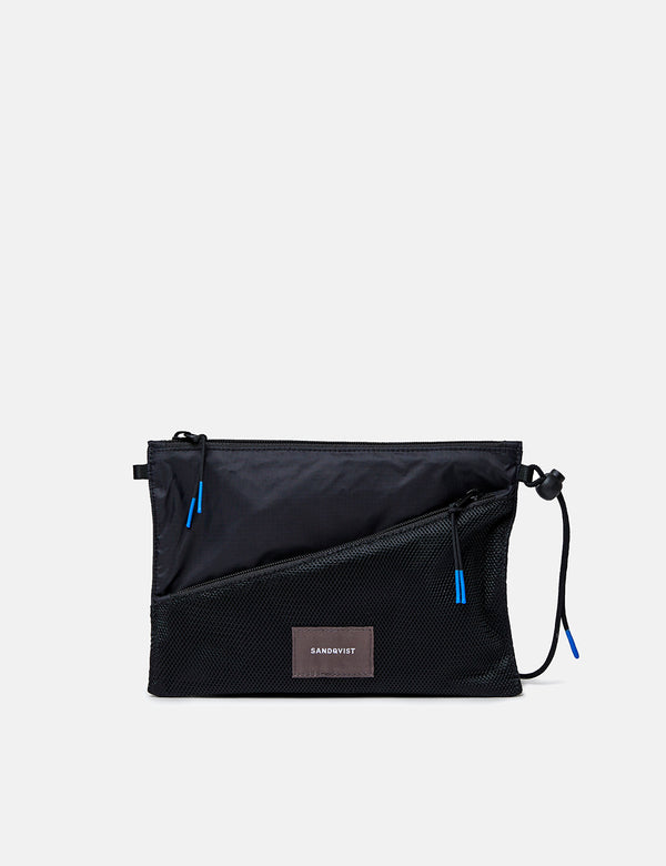 Sandqvist Dan Lightweight Side Bag - Black