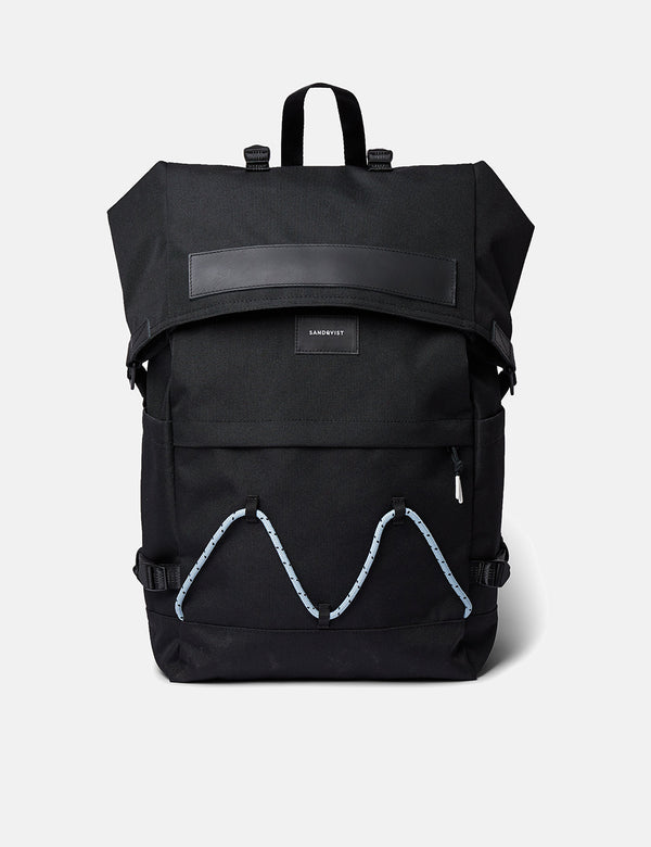 Sandqvist Christoffer Backpack - Black