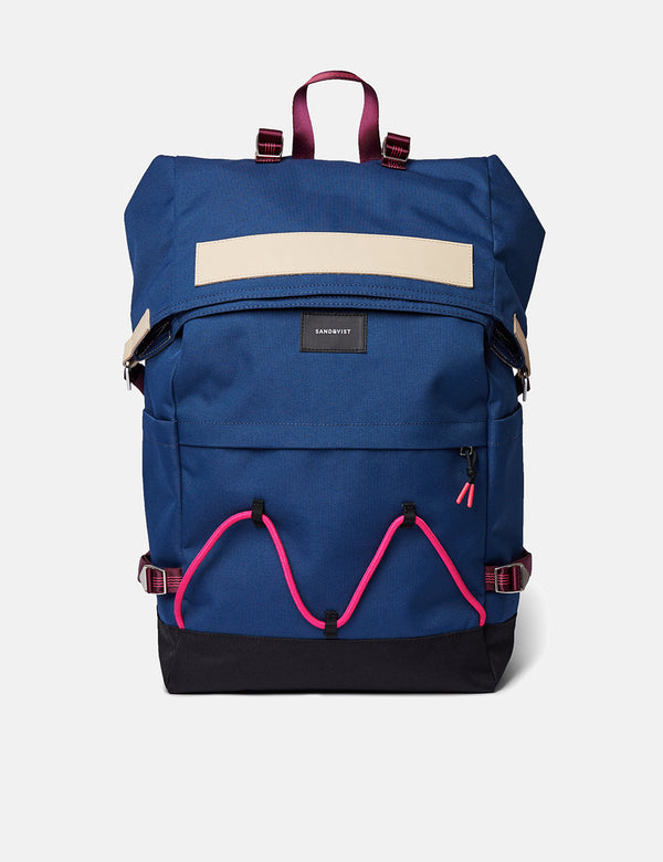 Sandqvist Christoffer Backpack - Evening Blue