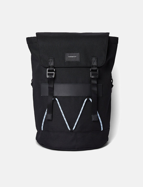 Sandqvist Johannes Backpack - Black