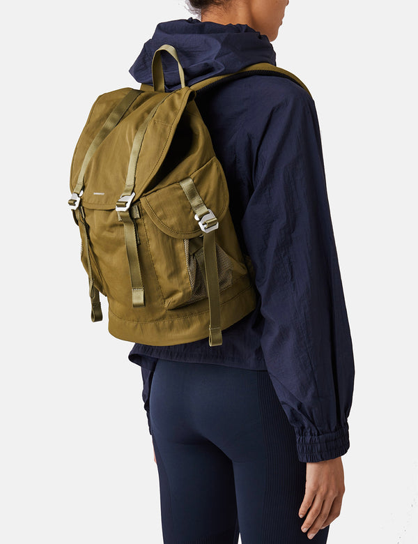 Sandqvist Charlie Backpack (Vegan) - Military Olive