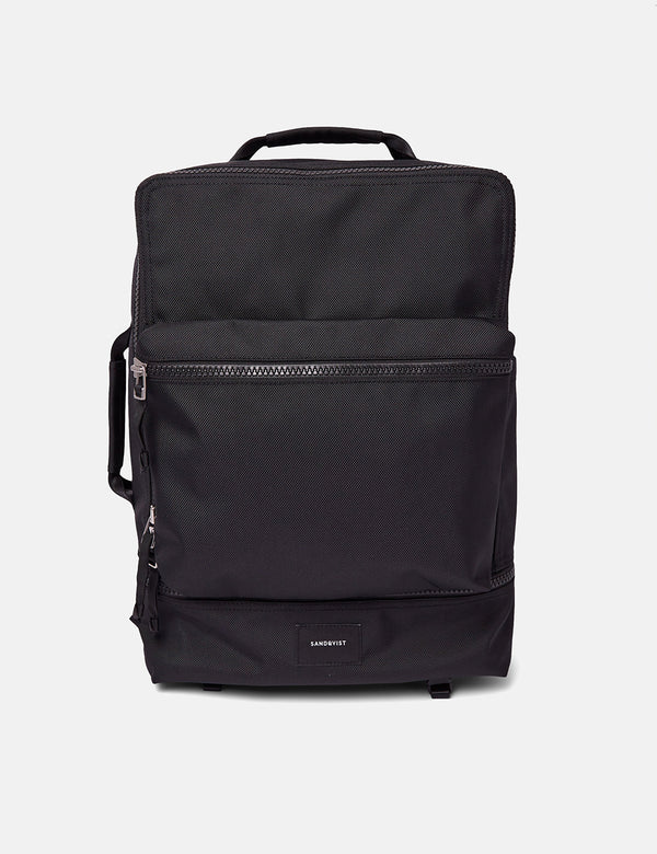 Sandqvist Algot 2.0 Backpack (Multi Use) - Black