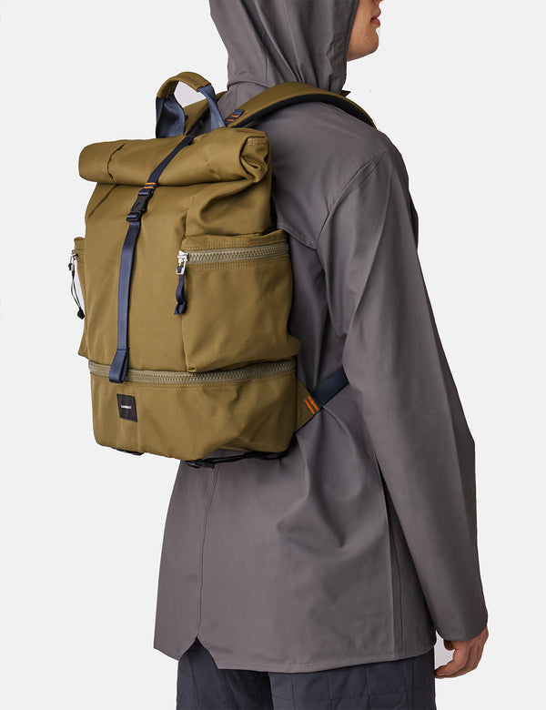 Sandqvist Verner 2.0 Backpack - Olive