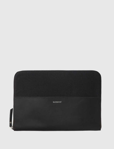 Sandqvist Morton Laptop Case - Black
