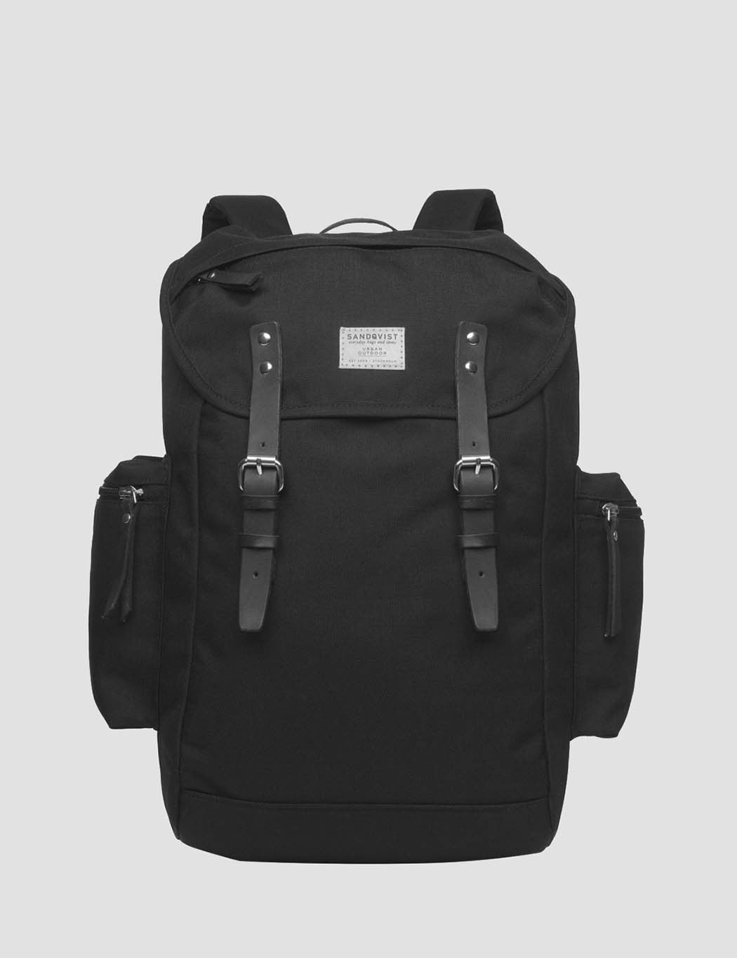 Sandqvist Lars Goran Backpack (Canvas) - Black
