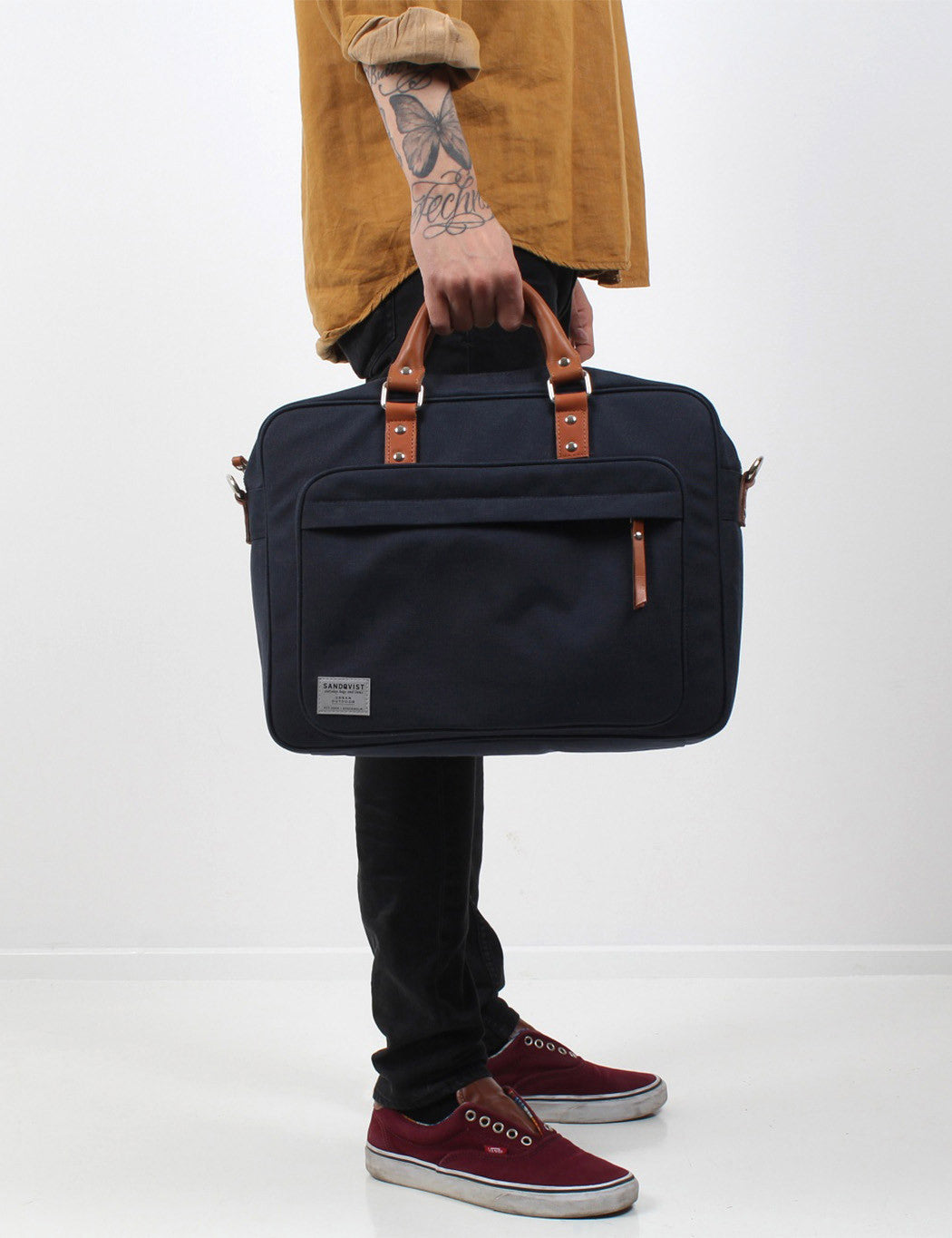 Sandqvist Pontus Laptop Bag - Blue