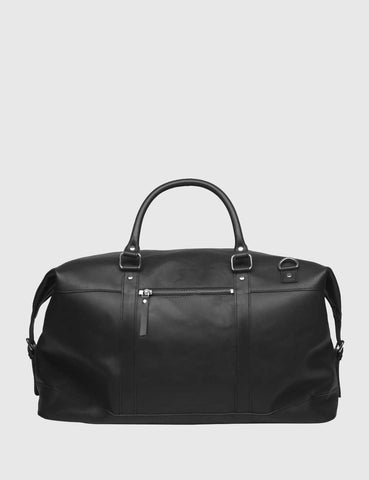 Sandqvist Jordan Weekend Bag (Leather) - Black
